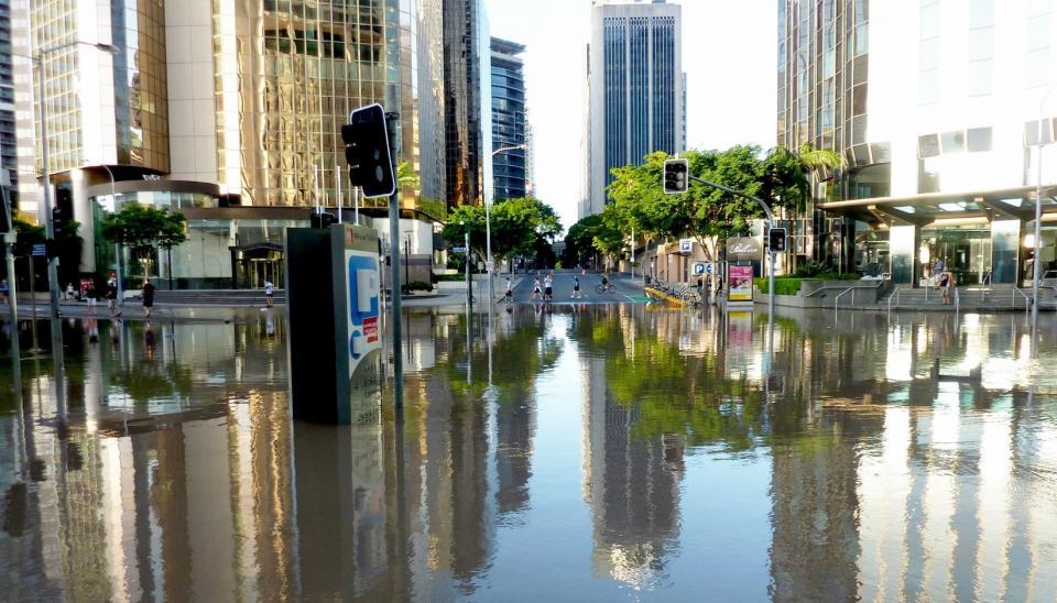 Brisbane City Floods. Source: Andrew Kesper. CC-BY-2.0