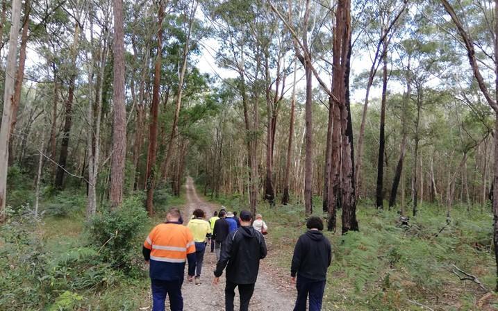 Minyumai Indigenous protected area, North Coast Cultural Land Management Workshop, 17-18 May 2021. Photo: Tony Jansen