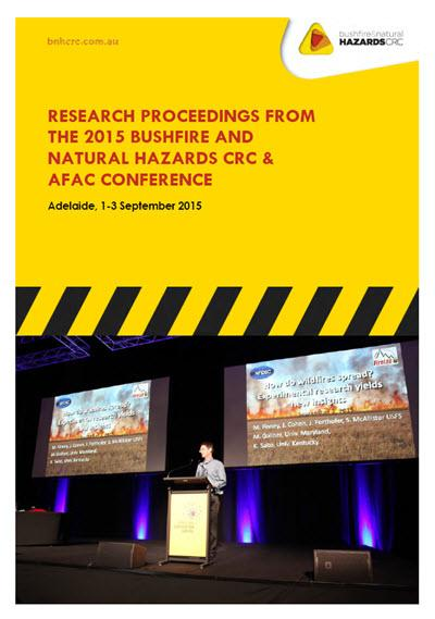 2015 AFAC Proceedings