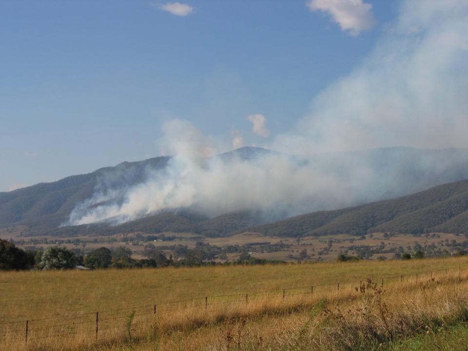 Gundowring bushfires