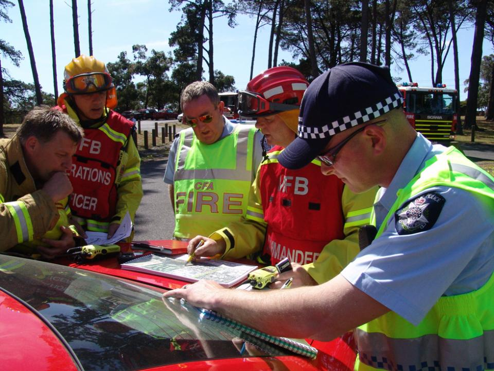 Incident management is being informed by new research. Photo CFA.