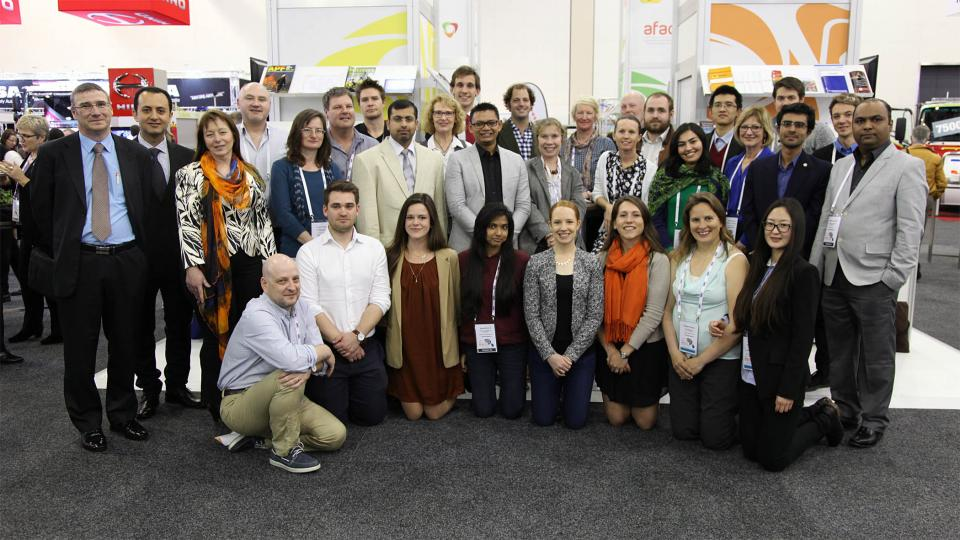 CRC students at our 2015 conference in Adelaide.