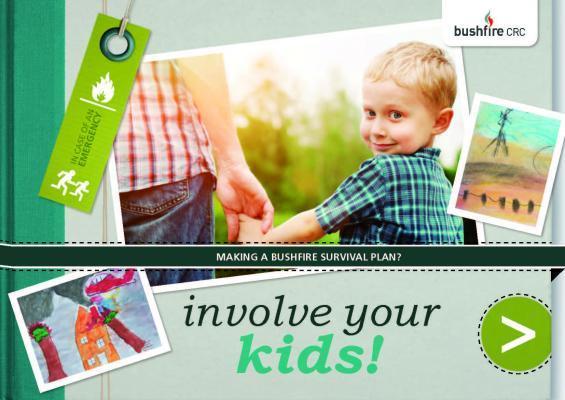 Involve Your Kids! - bushfire planning ebook