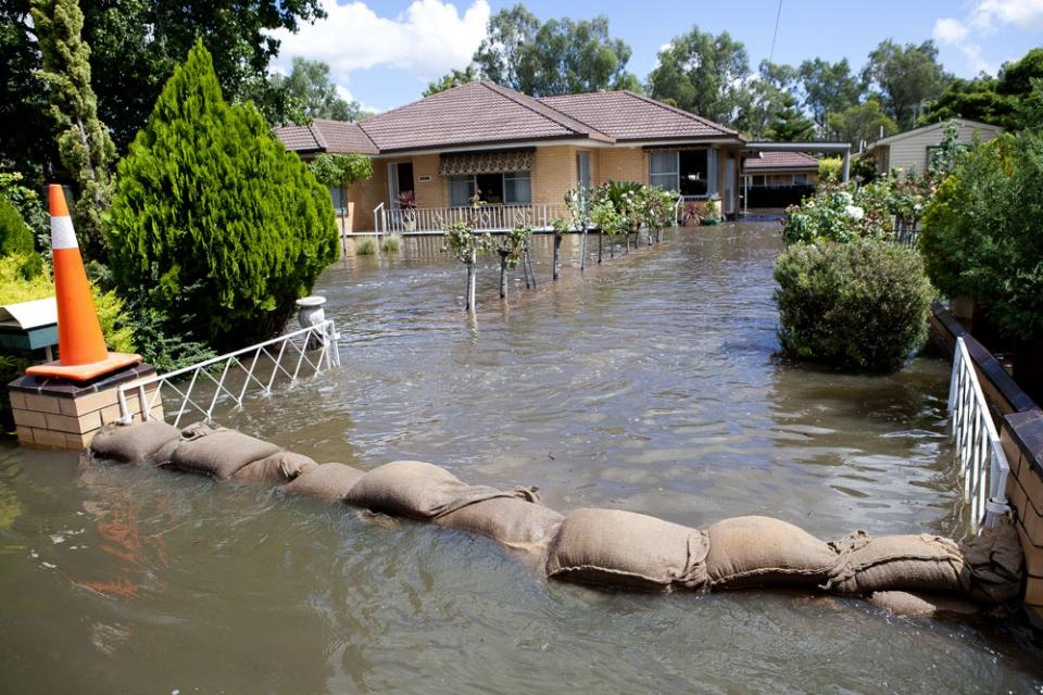 House flooded in Victoria
