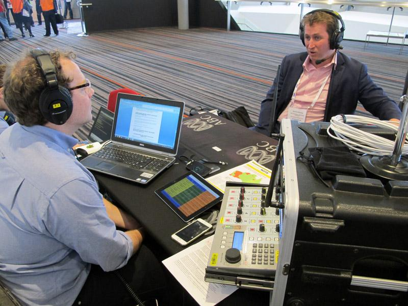 ABC Country Hour at AFAC15