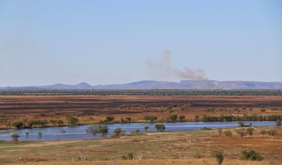 Western Australia fire landscape