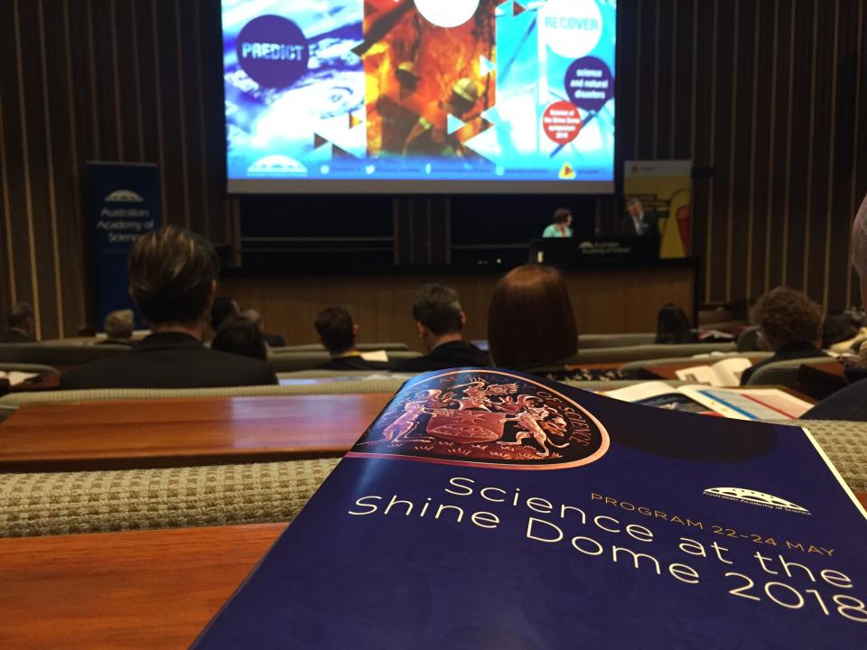 Science at the Shine Dome 2018