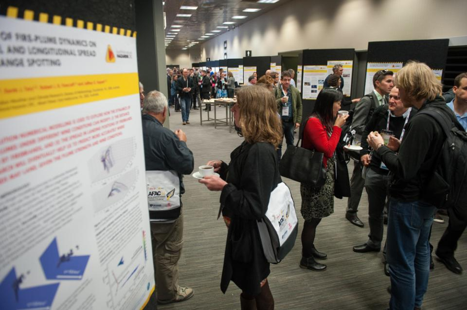2014 research posters in Wellington