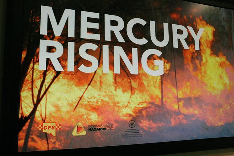 Mercury Rising - Extreme Bushfires public event