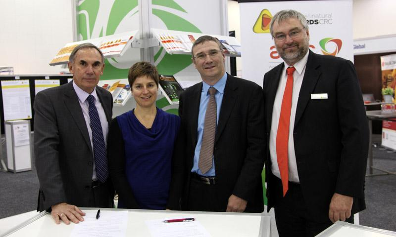 The CRC signed an MOU with NZ's Natural Hazards Research Platform