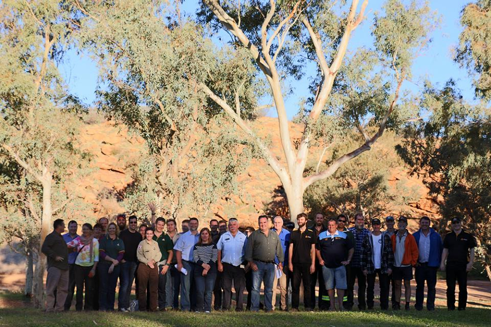North Australia Fire Managers forum, Alice Springs, June 2016