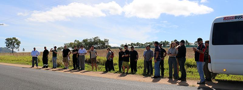 North Australia Fire Managers forum, field trip to Atherton Tablelands.