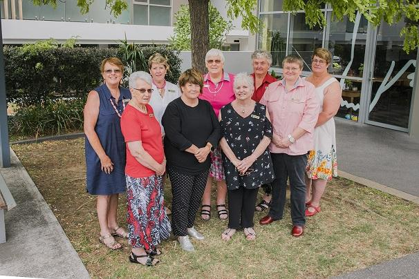 NSW CWA office bearers 2017-18. Photos: NSW CWA