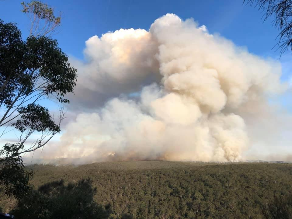 Artillery Hill NSW, May 2020. Photo: NSW Rural Fire Service
