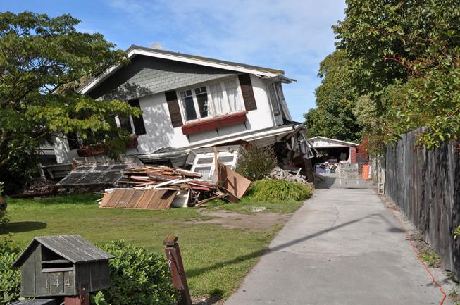 Earthquake house