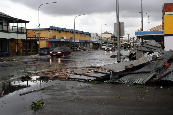 Queensland cyclone 2009