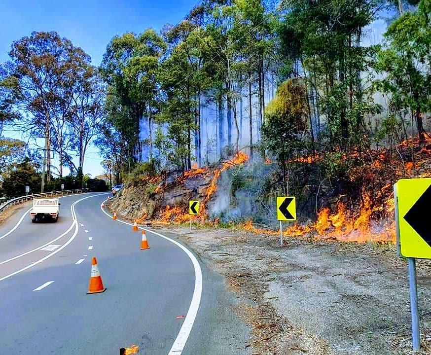 Hazard reduction burn, Hawkesbury 2020. Photo: NSW Rural Fire Service Hawkesbury District