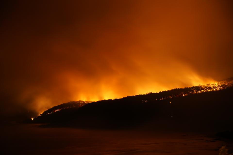 Extreme fire weather