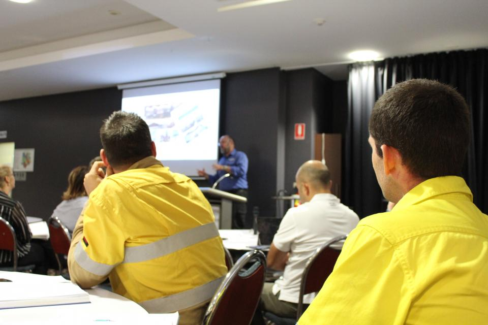 QFES pre season briefing in 2017. Photo: Carla Adams, QFES.