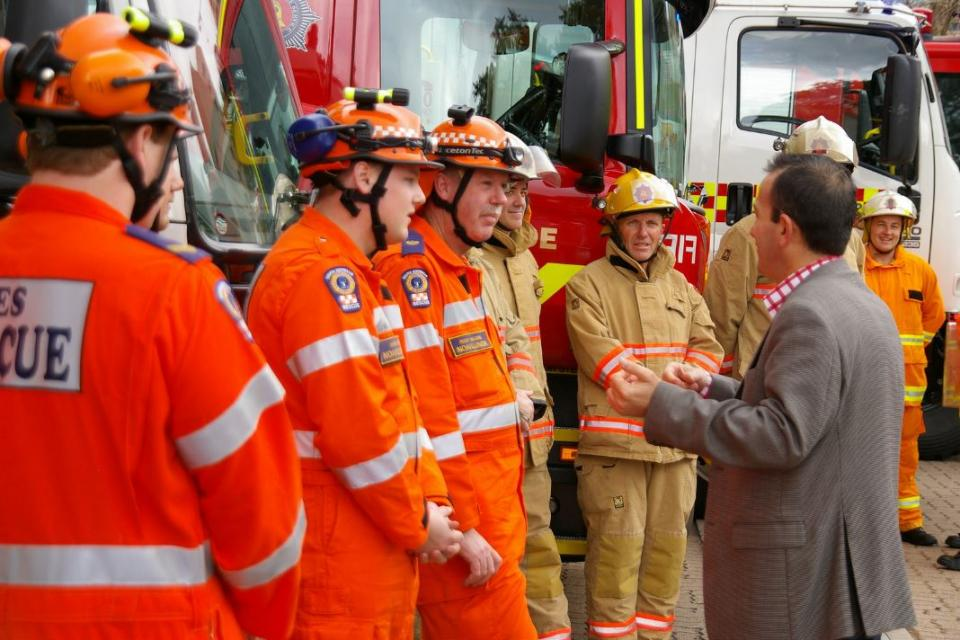 Working for the community and analysing future resourcing is a key component of this research. Photo: South Australia SES (CC BY-NC-SA 2.0)