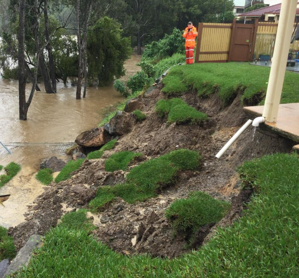 Flood planning benefits from a multi hazard research approach. Photo: QFES.
