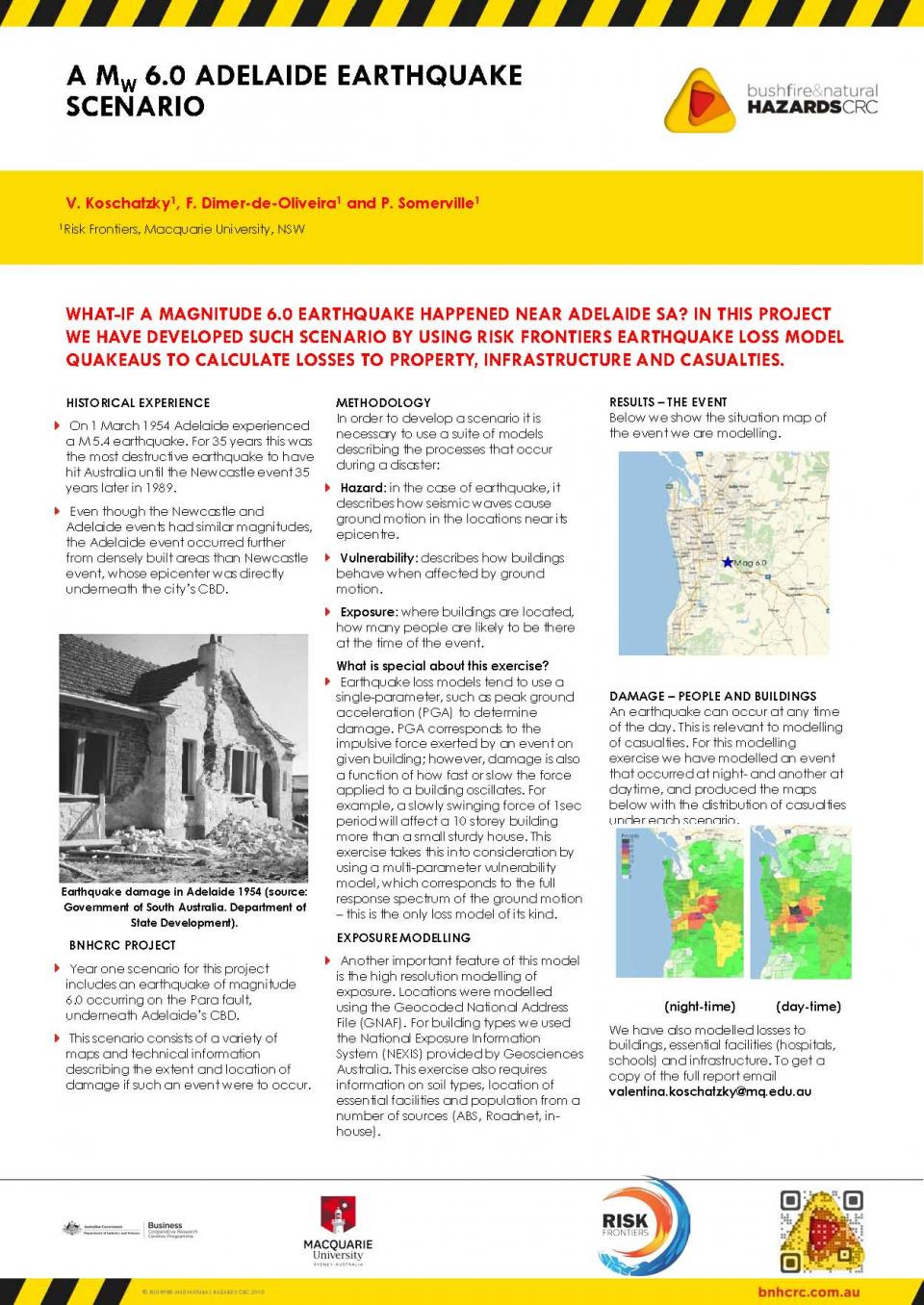 A Mw 9.0 Adelaide Earthquake Scenario