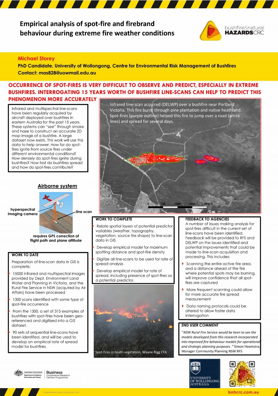 Empirical analysis of spot‐fire and firebrand behaviour during extreme fire weather conditions