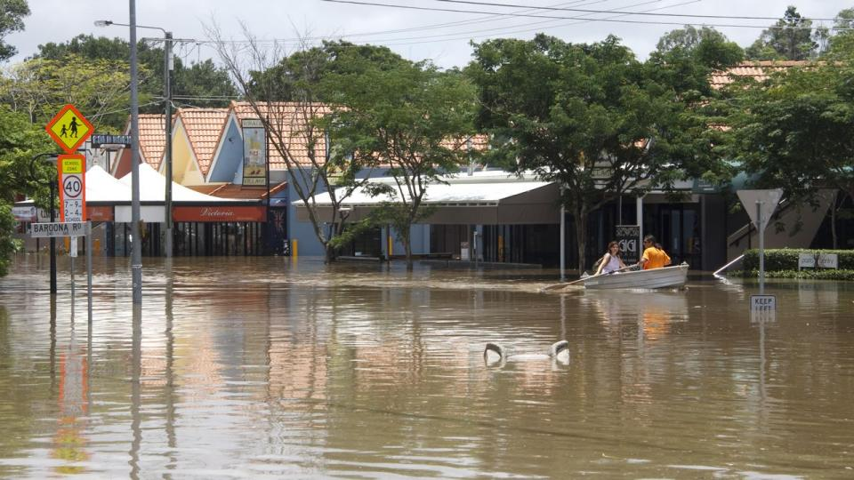 Brisbane floods 2011. Photo: Angus Veitch (CC BY-NC 2.0)