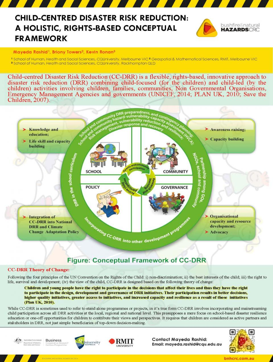 Child-centred disaster risk reduction: a holistic, rights-based conceptual framework