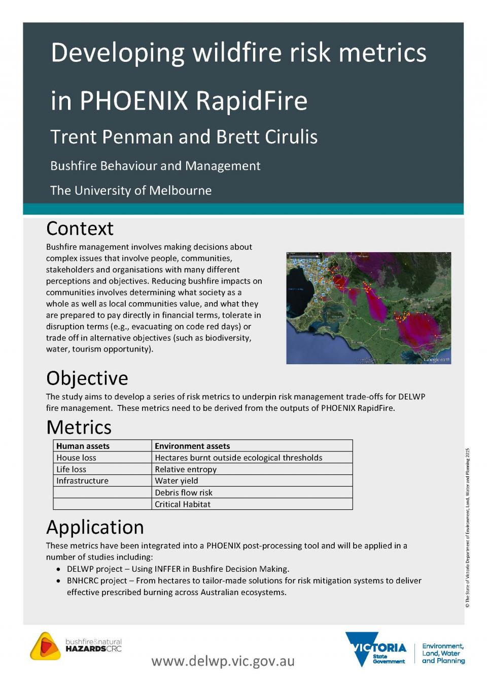 Trent Penman Conference Poster 2016