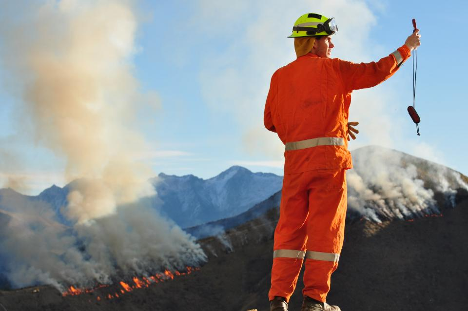 This study is investigating how organisations can improve their capacity to learn through experience. Photo: New Zealand Fire Service
