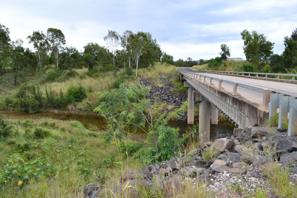 Kapernicks Bridge in the Lockyer Valley, Queensland, has been assessed for its vulnerability to earthquakes, as well as retrofitting options. Photo Hessam Mohsen.