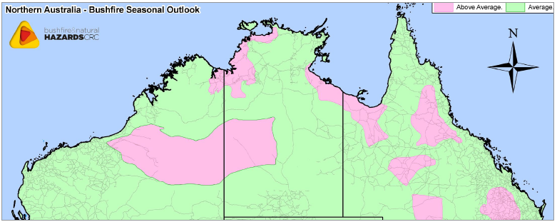 2014 North Australia Bushfire Seasonal Outlook