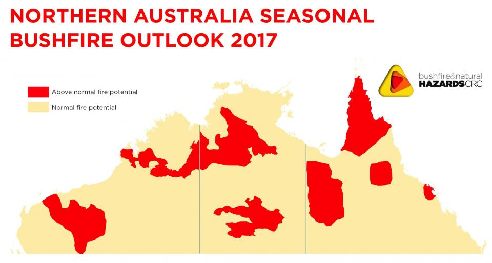 Northern Australia Seasonal Bushfire Outlook 2017