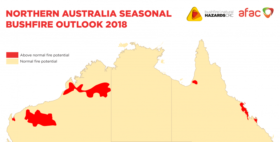 Northern Australia Seasonal Bushfire Outlook 2018 | Bushfire ...