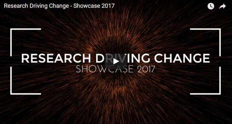 Research Driving Change - Showcase 2017