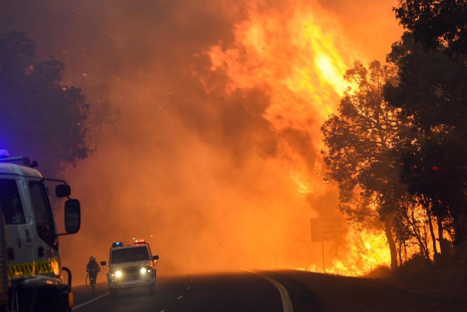 Waroona bushfire 2016. Photo DFES