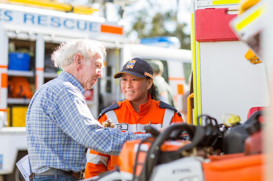 Drivers for the coaching and mentoring resource include unique demands on IMT roles. Photo: Victoria State Emergency Service