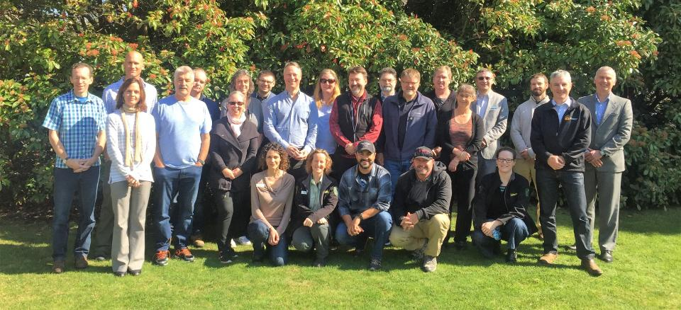 Meeting the Nth American Study Tour 2018 at Mt Macedon