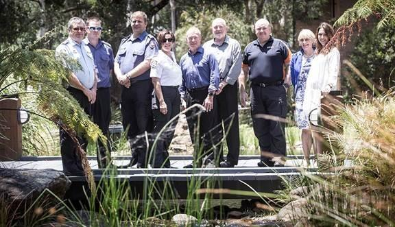ACT ESA staff met with the UoW research team to learn more about the leadership program. Photo Paul Jones