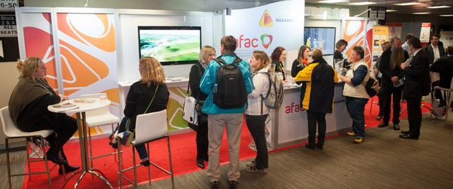 AFAC14 CRC booth