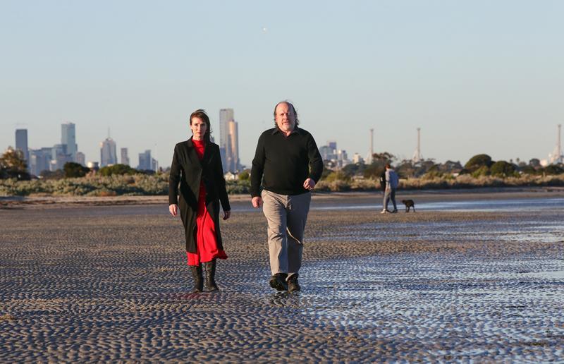 Celeste Young and Roger Jones. Photo: Victoria University