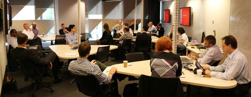 Breakout discussions - Research Advisory Forum at RMIT University, December 2014