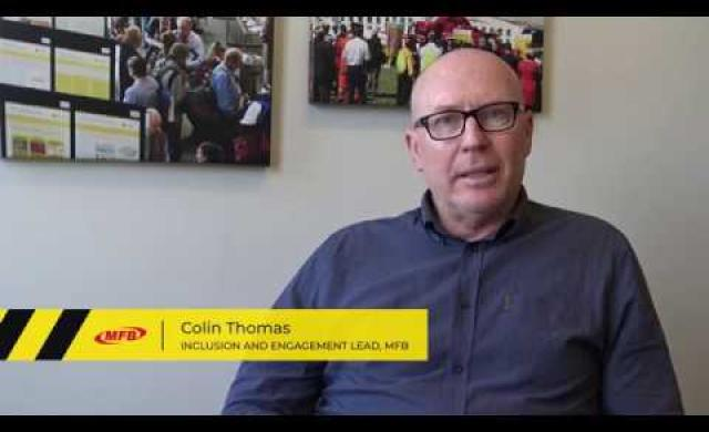 Colin Thomas from MFB on why diversity and inclusion is important