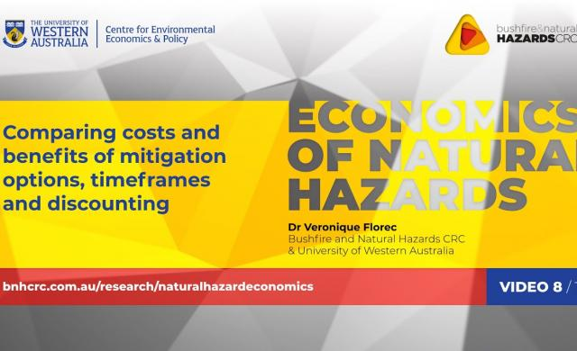 Comparing costs and benefits of mitigation options | Economics of natural hazards (8/10)