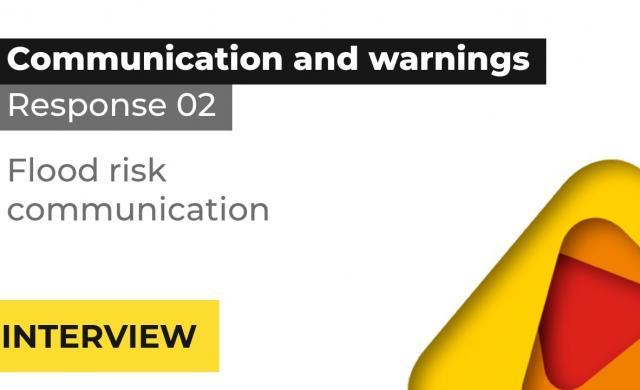 Hon A/Prof Mel Taylor interview: flood risk communication