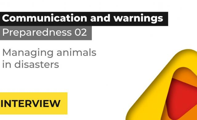 Hon A/Prof Mel Taylor interview: managing animals in disasters