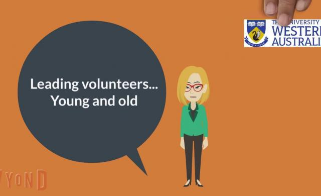 Enabling sustainable volunteering - leading volunteers young and old: research study