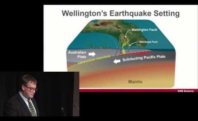 David Johnston - Understanding behavioural responses to earthquake