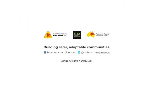 Australian Disaster Resilience Index – launch recording